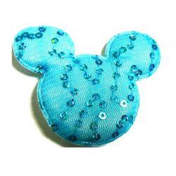 Prendedor Mickey Cabelo Infantil