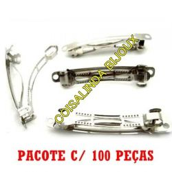 Pacote c/100 Base Presilha  8cm- O698