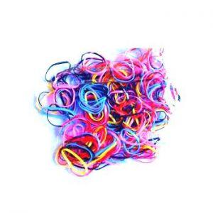 Elastico Silicone Colorido Peq - O598