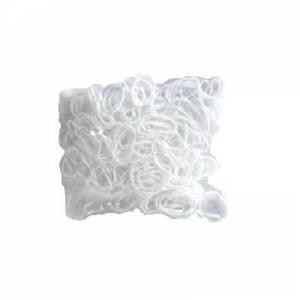 Elastico Silicone Branco Peq - O601