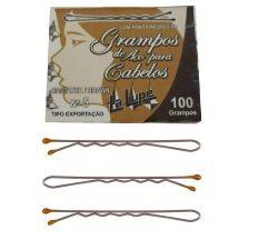 Caixa c/100 Grampo Castanho - O112